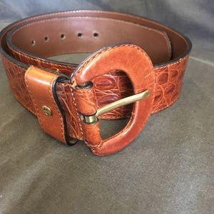 Etienne Aigner Leather Belt